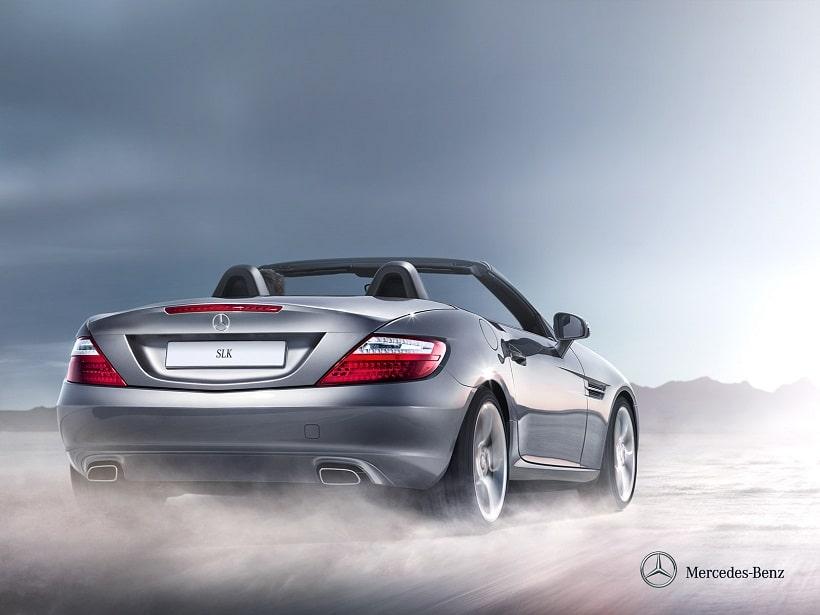 2014_Mercedes-Benz_SLK_Class_Rear