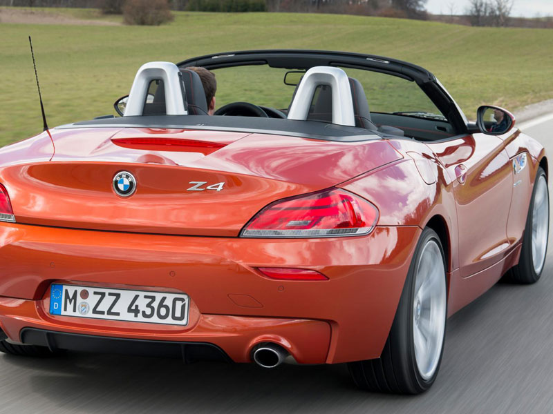 Bmw Z4 Roadster 365 Luxury Car Hire