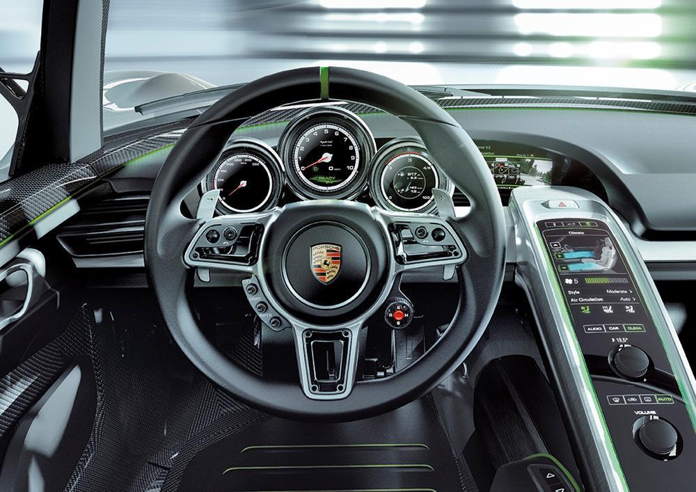 918 sypder interior